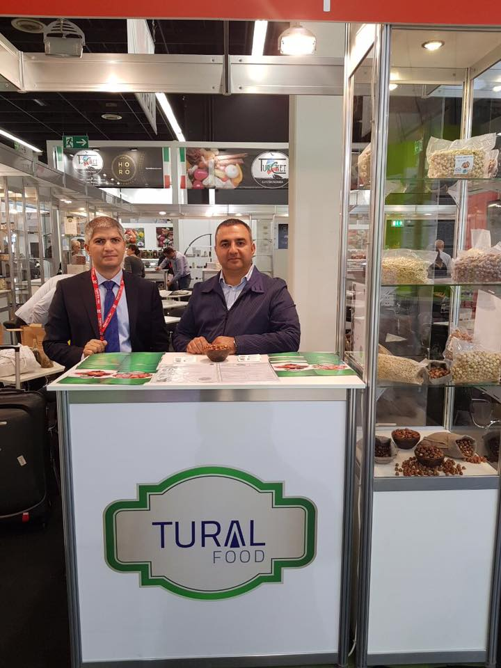 Germany Cologne Anuga trade fair stand 2017